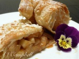 Two Apples and a sheet of Puff Pastry!