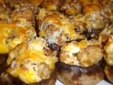Stuffed Mushrooms with….. (wait for it…)… BACON!!!
