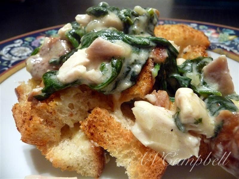 Chicken & Spinach Casserole | epicureantease