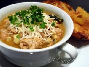 white bean & turkey chili II
