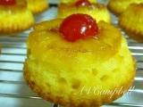 Pineapple Upside-Down Cupcakes!