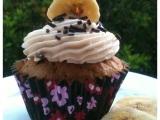 Banana Cupcakes with CaramelButtercream