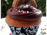 Chocolate Chip Cookie DoughCupcakes!