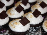 Tis' the season for S'Mores Cupcakes!