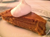 Pumpkin Pie & Bourbon Whip Cream!