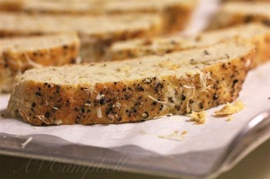 Parmesan & Black Pepper Biscotti!