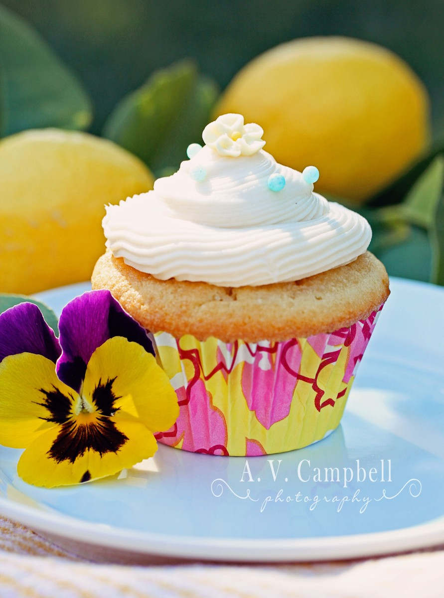 how to make lemon frosting for cupcakes
